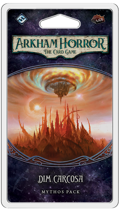 ARKHAM HORROR: THE CARD GAME LCG DIM CARCOSA MYTHOS PACK
