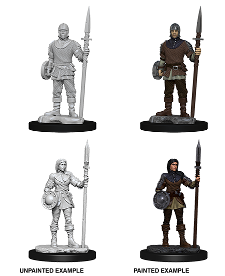 WIZKIDS DEEP CUTS MINIATURES GUARDS