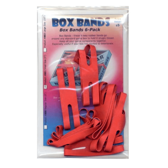 BOX BANDS - SMALL (PACK OF 8)