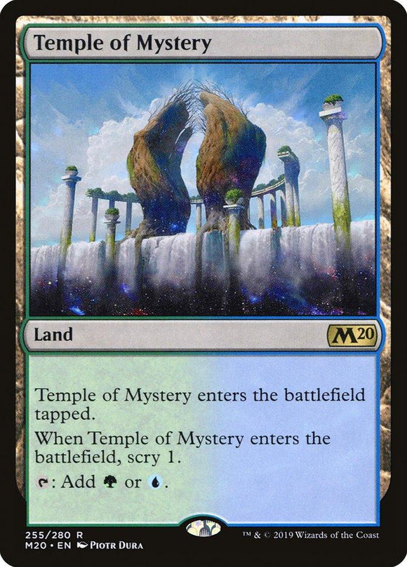 MTG SINGLE: TEMPLE OF MYSTERY (M20)