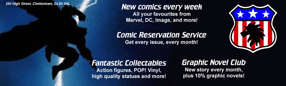 Proud Lion comics, graphic novels, and collectables!