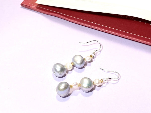 SELF-LOVE - Love Letter Jewelry - 925 Sterling Silver Jewelry - Organic Pearl Jewelry