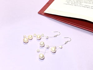 MINI PEARL STRING LIGHTS - Pearls Earring - Pearl Earrings - Love Letter Jewelry
