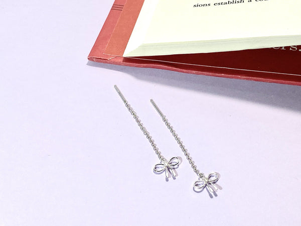 TIE OUR LOVE IN A DOUBLE KNOT - Love Letter Jewelry - 925 Sterling Silver Jewelry - Organic Pearl Jewelry
