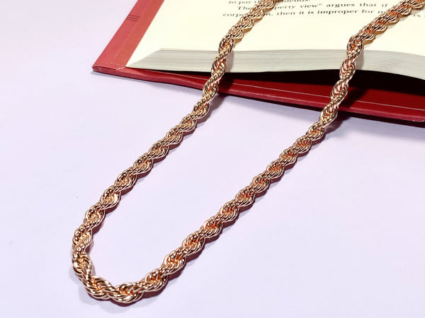 BOSS - Rose Gold - Necklaces - Love Letter Jewelry