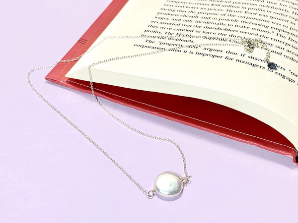 SOPHISTICATE - Love Letter Jewelry - 925 Sterling Silver Jewelry - Organic Pearl Jewelry