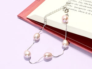 EGGSPRESS YOURSELF - Love Letter Jewelry - 925 Sterling Silver Jewelry - Organic Pearl Jewelry