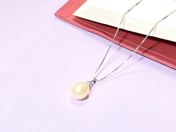 TREAT YOURSELF - Love Letter Jewelry - 925 Sterling Silver Jewelry - Organic Pearl Jewelry