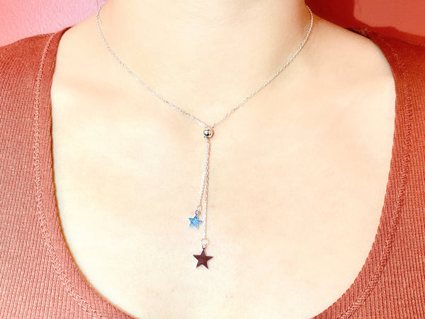 SUPER STAR - Love Letter Jewelry - 925 Sterling Silver Jewelry - Organic Pearl Jewelry