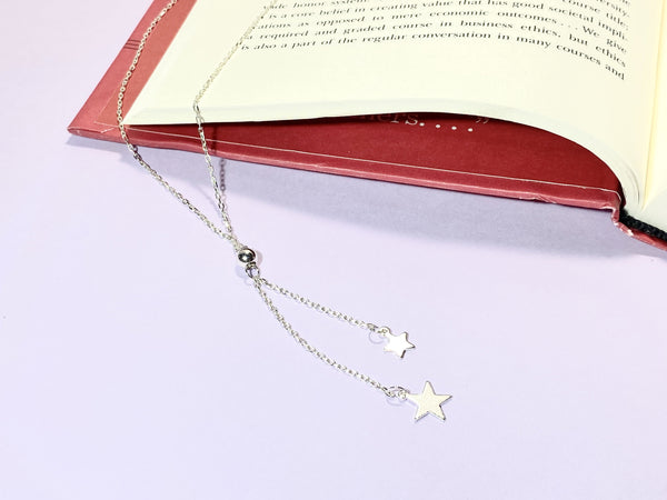 MOON AND STARS - Love Letter Jewelry - 925 Sterling Silver Jewelry - Organic Pearl Jewelry