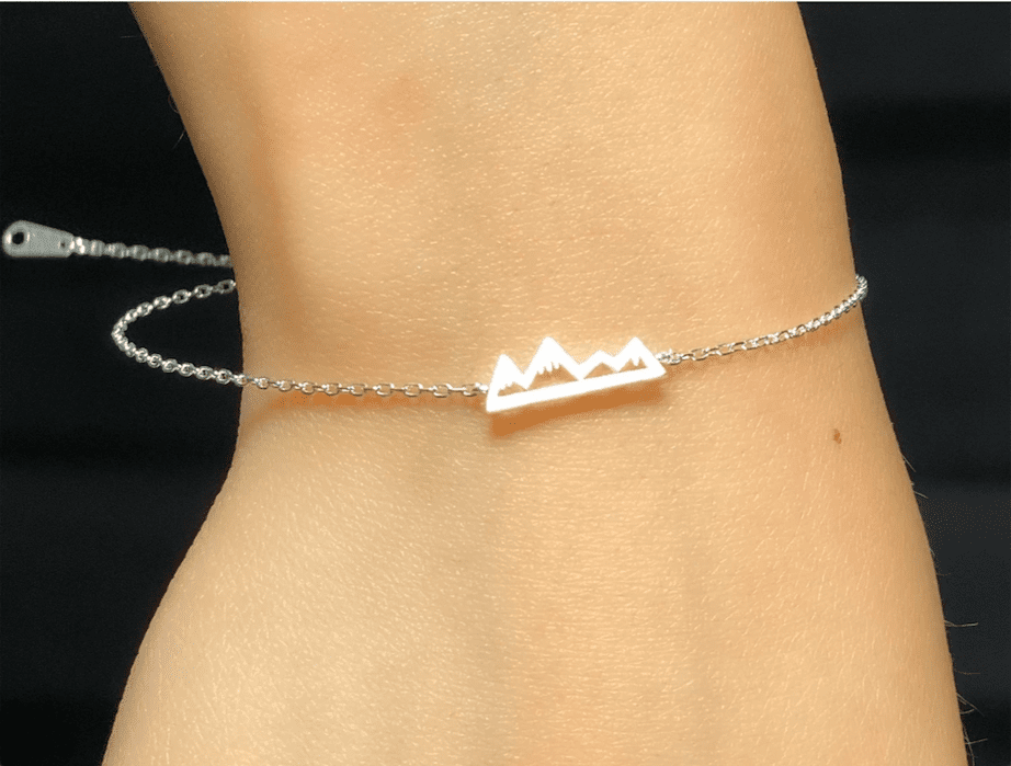 SNOWY MOUNTAIN - Bracelet - Love Letter Jewelry