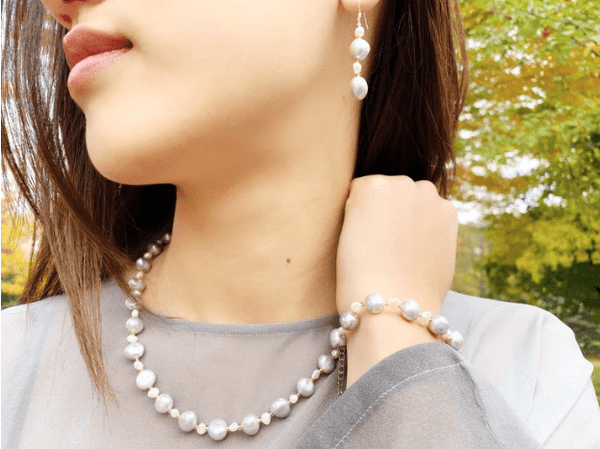 CONNECTED BY SELF-LOVE - pearl necklace - pearl necklaces - Love Letter Jewelry