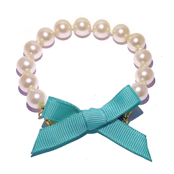 Interchangeable Bows for Pearl Bracelet