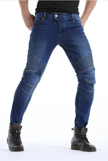 Mens Waterproof Moto Jeans - Fashionpheeva
