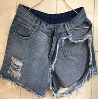 Women's Distressed Ripped Booty Shorts - Fashionpheeva