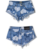 Women's Low Cut Booty Shorts - Fashionpheeva