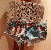 Womens American Flag Booty Shorts - Fashionpheeva