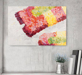 Abstract Drumstick (Canvas Print)