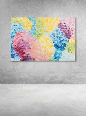 Abstract Candy Chain (ORIGINAL PAINTING)