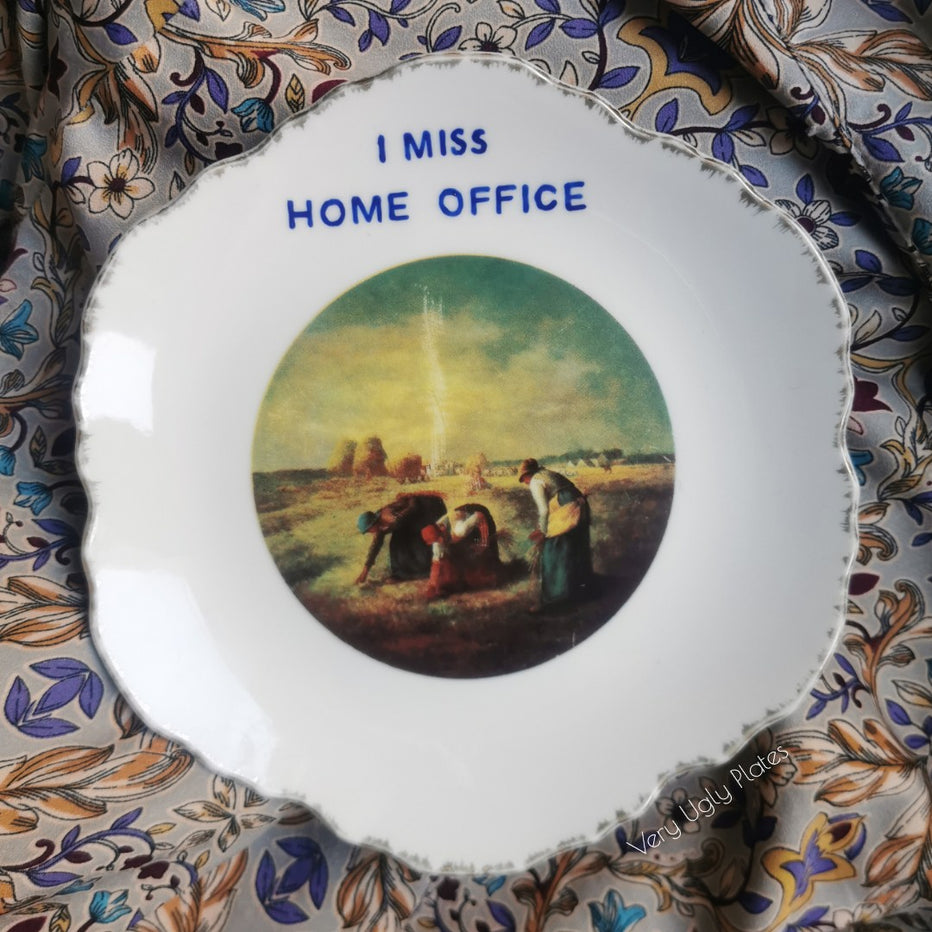 i miss home office wall plate