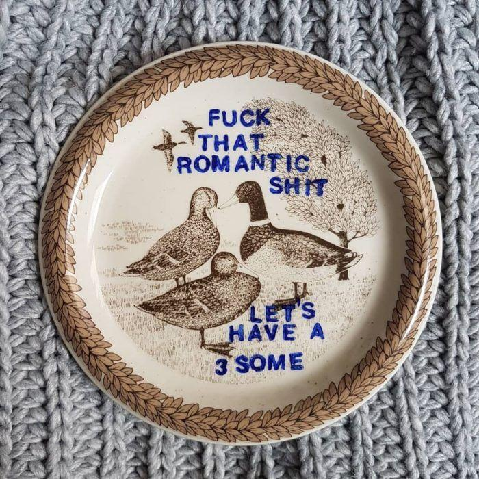 fuck romantic shit