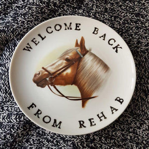 welcome back from rehab