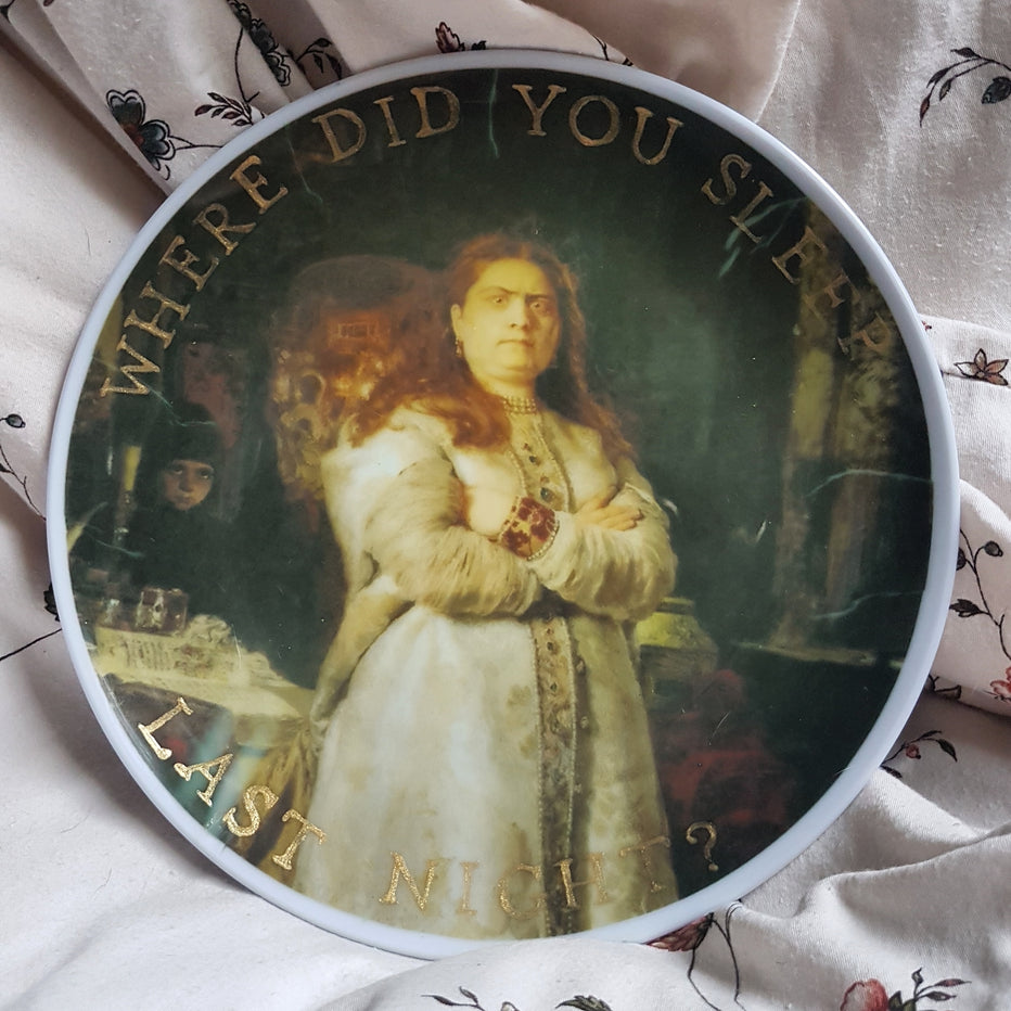 real horror story wall plate