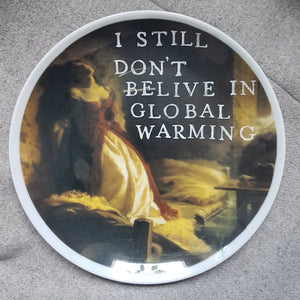 global warming wall plate