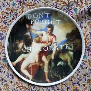 bring chocolate wall plate