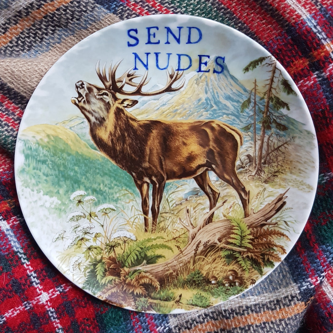 send nudes wall plate