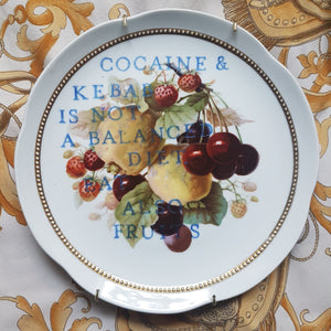 balanced diet wall plate