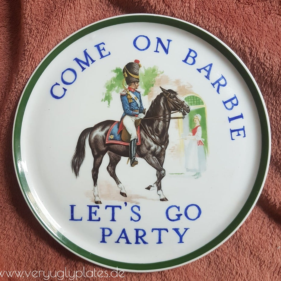 come in barbie wall plate