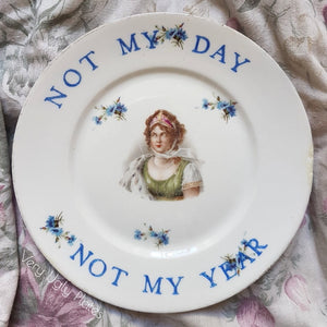 not my day wall plate