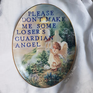 loser's angel wall plate
