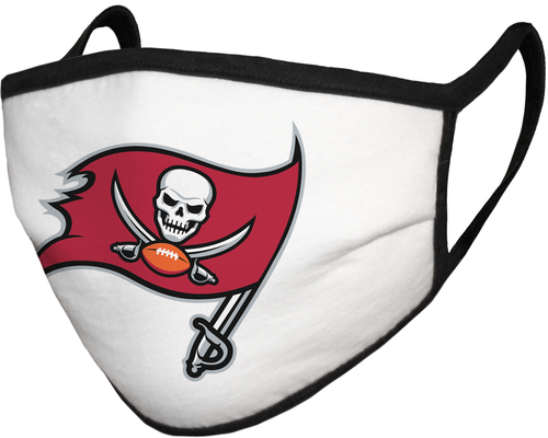 Tampa Bay Buccaneers Fanatics Branded Adult Cloth Face Covering - MADE IN USA