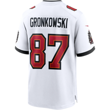 Load image into Gallery viewer, Men's Nike Rob Gronkowski White Tampa Bay Buccaneers Game Jersey
