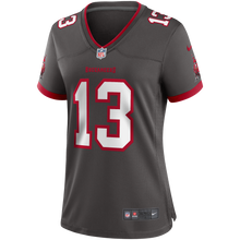 Load image into Gallery viewer, Women's Nike Mike Evans Tampa Bay Buccaneers  Alternate Game Jersey - Pewter