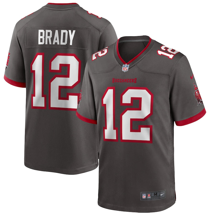 Men's Nike Tom Brady Tampa Bay Buccaneers Color Rush 2020 Game Jersey