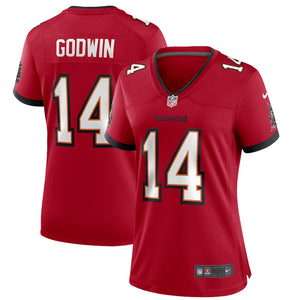 Women's Nike Chris Godwin Red Tampa Bay Buccaneers Game Player Jersey