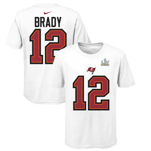 WHITE BRADY SBLV PLAYER T PLAYOFF