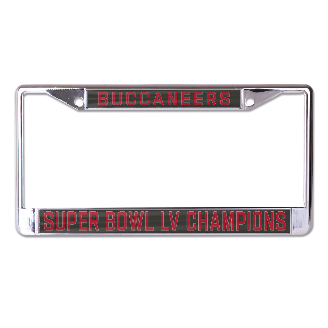 Playoff SBLV CHAMPS LICENSE PLATE FRAMES