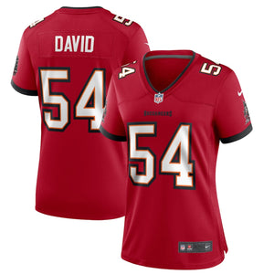 Women's Nike Lavonte David Tampa Bay Buccaneers Home 2020 Game Jersey