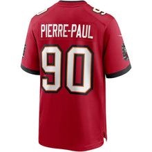 Load image into Gallery viewer, Men's Nike Jason Pierre-Paul Red Tampa Bay Buccaneers Game Jersey