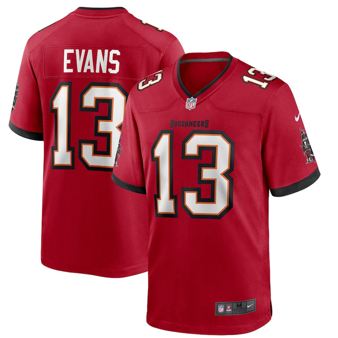 Men's Nike Mike Evans Red Tampa Bay Buccaneers Player Game Jersey