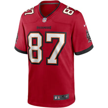 Load image into Gallery viewer, Men's Nike Rob Gronkowski Red Tampa Bay Buccaneers Game Jersey