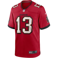 Load image into Gallery viewer, Men's Nike Mike Evans Red Tampa Bay Buccaneers Player Game Jersey