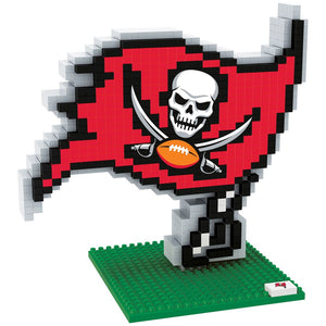 Tampa Bay Buccaneers Forever Collectibles BRXLZ Logo