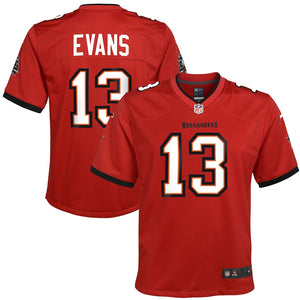 Youth Nike Mike Evans Red Tampa Bay Buccaneers Game Jersey