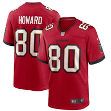 Load image into Gallery viewer, Men's Nike O.J. Howard Red Tampa Bay Buccaneers Player Game Jersey