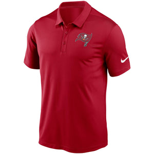Men's Nike Red Tampa Bay Buccaneers Fan Gear Franchise Team Performance Polo